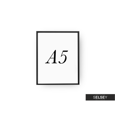 Black A5 Photo Frame