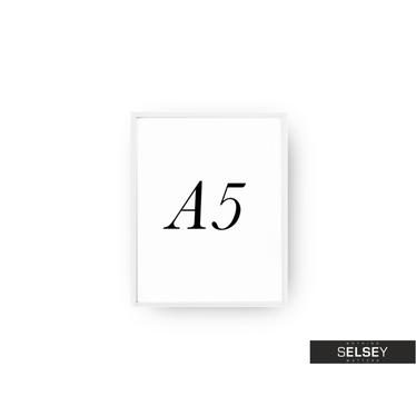 White A5 Photo Frame