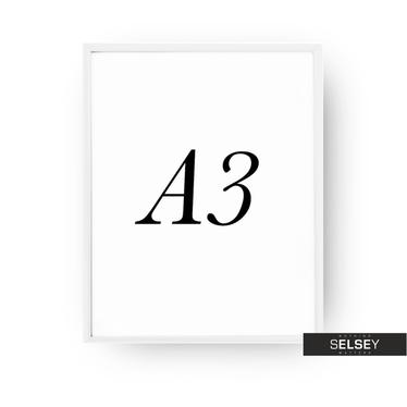 White A3 Photo Frame