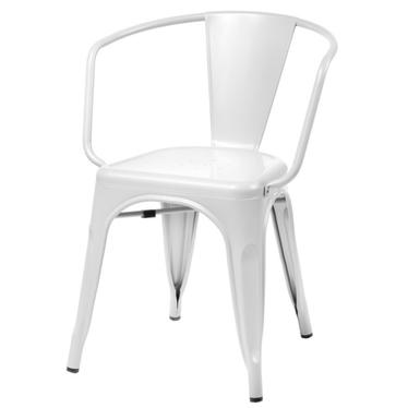 Paris Arms White Chair