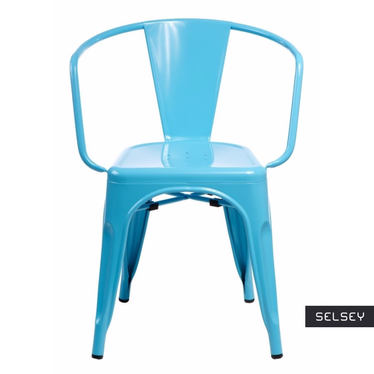 Paris Arms Blue Chair