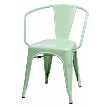 Paris Arms Green Chair