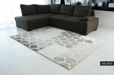 Morocco Patchwork Beige Carpet