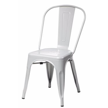 Paris Grey Metal Chair