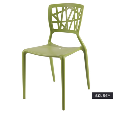 Bush Green Plastic Chair