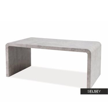 Vostra Minimalist Concrete Grey Bench