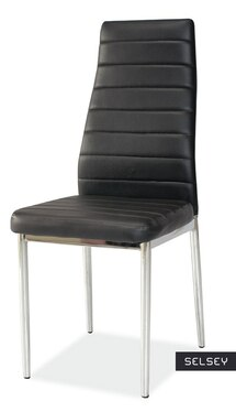 Lastad Uno Upholstered Black Chair