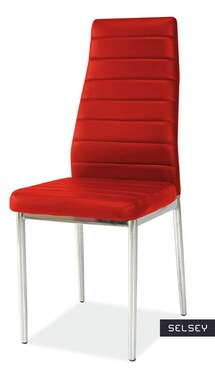 Lastad Uno Upholstered Red Chair