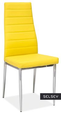 Lastad Uno Upholstered Yellow Chair