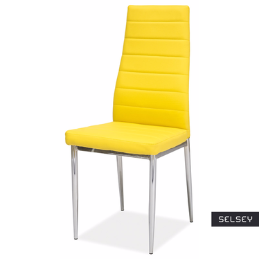 Lastad Uno Upholstered Yellow Chair