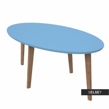 Norman Blue Scandinavian Coffee Table