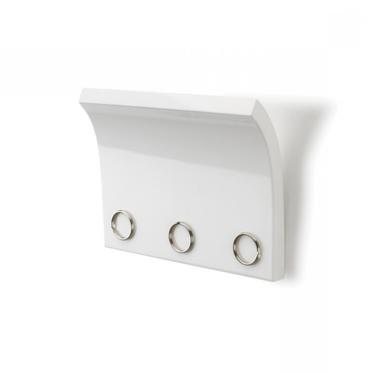 Magnette White Magnetic Key Holder