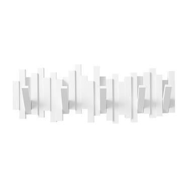Multi Sticks White Wall Hooks