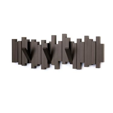 Multi Sticks Brown Wall Hooks