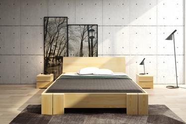 Loke Pine Wood Bed