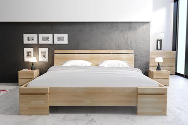Lopar Beech Wood Bed