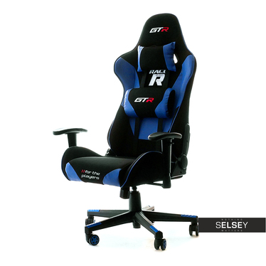 Racer GTR Gaming Chair Black and Blue