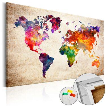 Rainbow World Pinboard