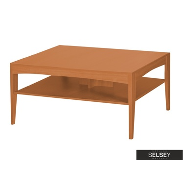 Masur Coffee Table With Shelf 120x60 cm