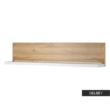 Foster Oak Wall Shelf 150 cm
