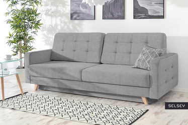 Vordis Grey Sofa Bed