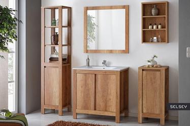 Francisco White Bathroom Vanity Unit 80 cm