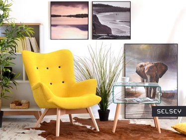 Florialle Yellow Armchair