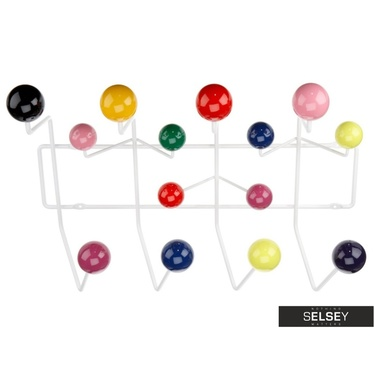 Ball Multicolour Coat Hooks