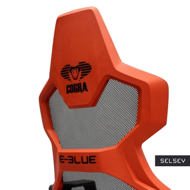 E-Blue Cobra Air Gaming Chair Black and Red