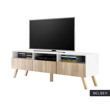 Lavello Wood Scandi Style TV Stand