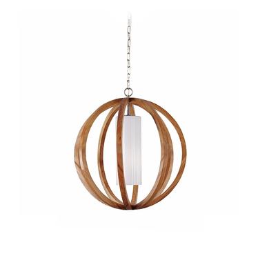 Allier Due Wooden Pendant Lamp
