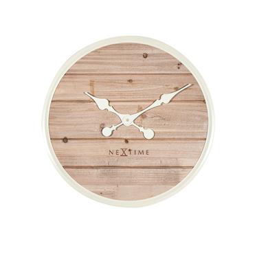 Plank Wooden Wall Clock 50 cm