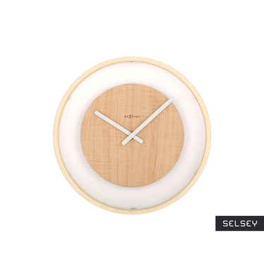 Loop Wooden Wall Clock
