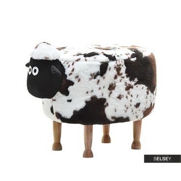 Sheep Dappled Plush Seat for Kids