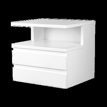 Franklin 2 Drawer Floating Bedside Table