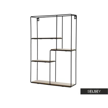 Loft Industrial Floating Shelf 37x55 cm