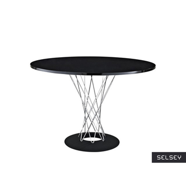 Tornado Black Table 100 cm