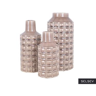 Cecyl Decorative Brown Vase