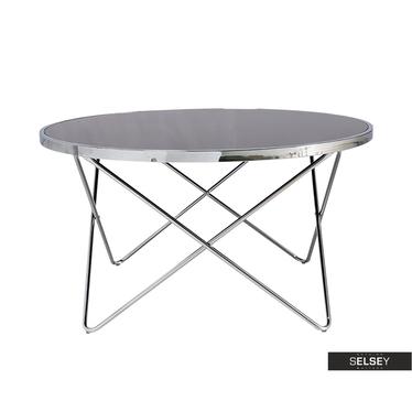 Chrome Designer Coffee Table 85 cm