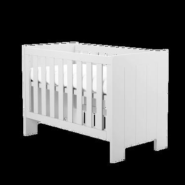 Calmo White Cot Bed 120x60 cm