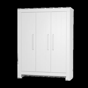 Calmo 3 Door White Wardrobe