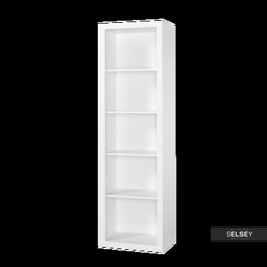 Lara White Bookcase