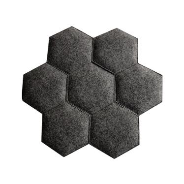Honeycomb Black Cushion