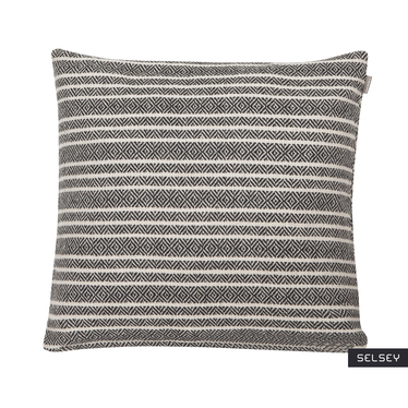 Winford Striped Throw Pillow 45x45 cm