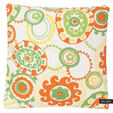Colour Jam Green Decorative Pillow 45x45 cm