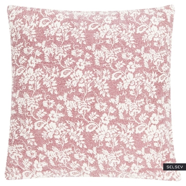 Flower Garden Pink Scatter Cushion 60x60 cm