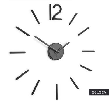 Blink Minimalist Black Wall Clock