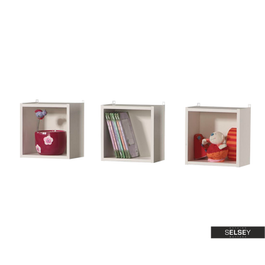 Dumbo 3 Piece Nursery Wall Shelf Set
