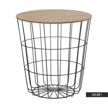 Sanu Black Basket Coffee Table