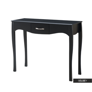 Luarca Black Console Table